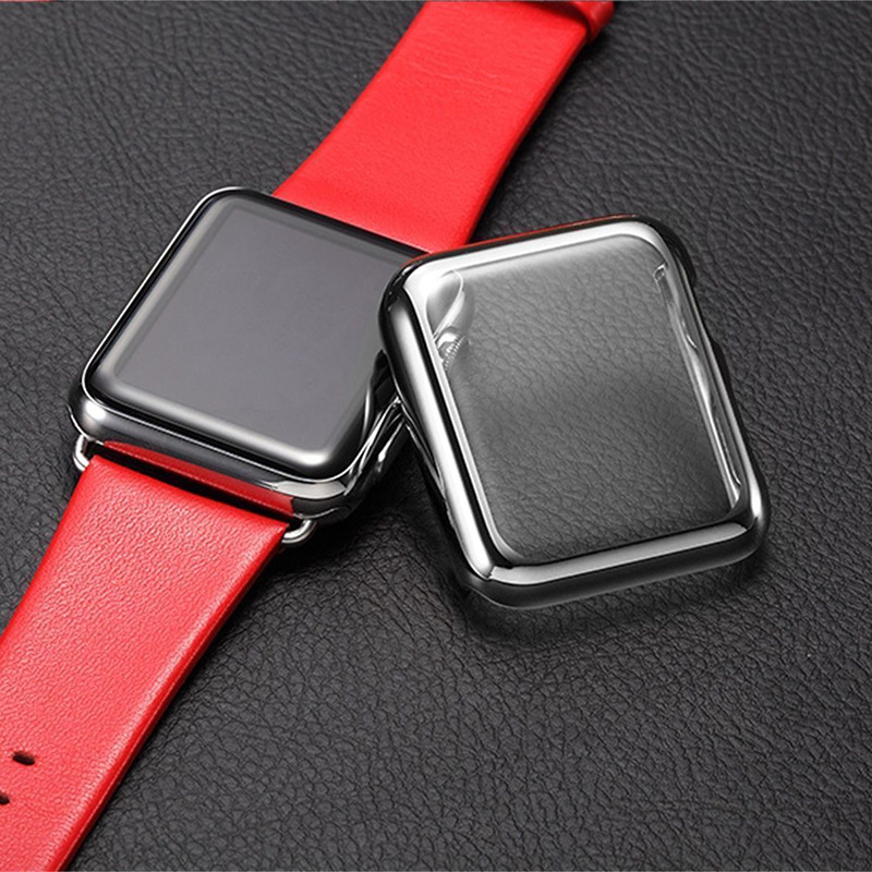 Luxury hard PC protective case for Apple Watch iwatch black