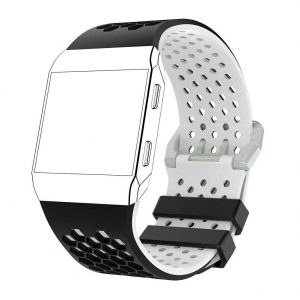 Silicone Watch Bands Bracelet for Fitbit Ionic Smart Watch strap