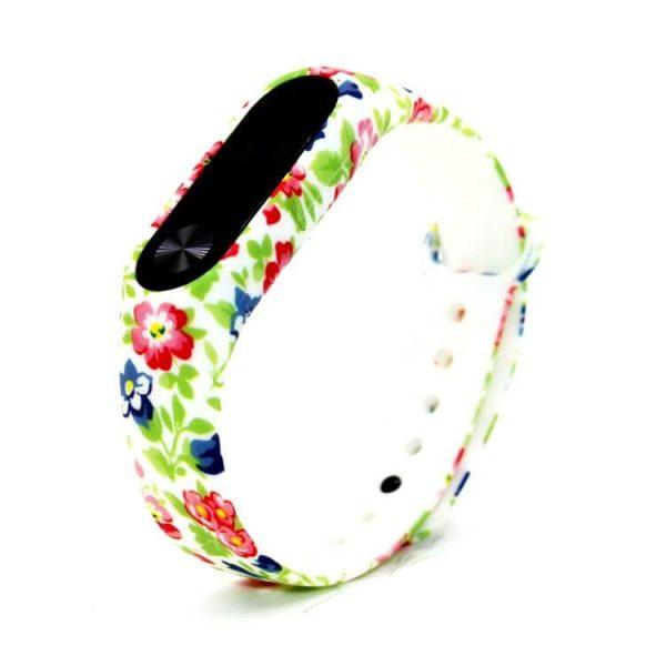2018-New-Flower-Pattern-TPU-Smart-Wrist