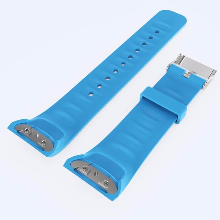 Blue Samsung Gear Fit 2 watch strap
