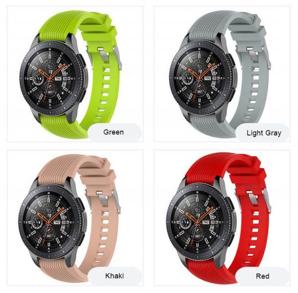 Galaxy S4 Sport Watch Band Rubber Wrist Strap