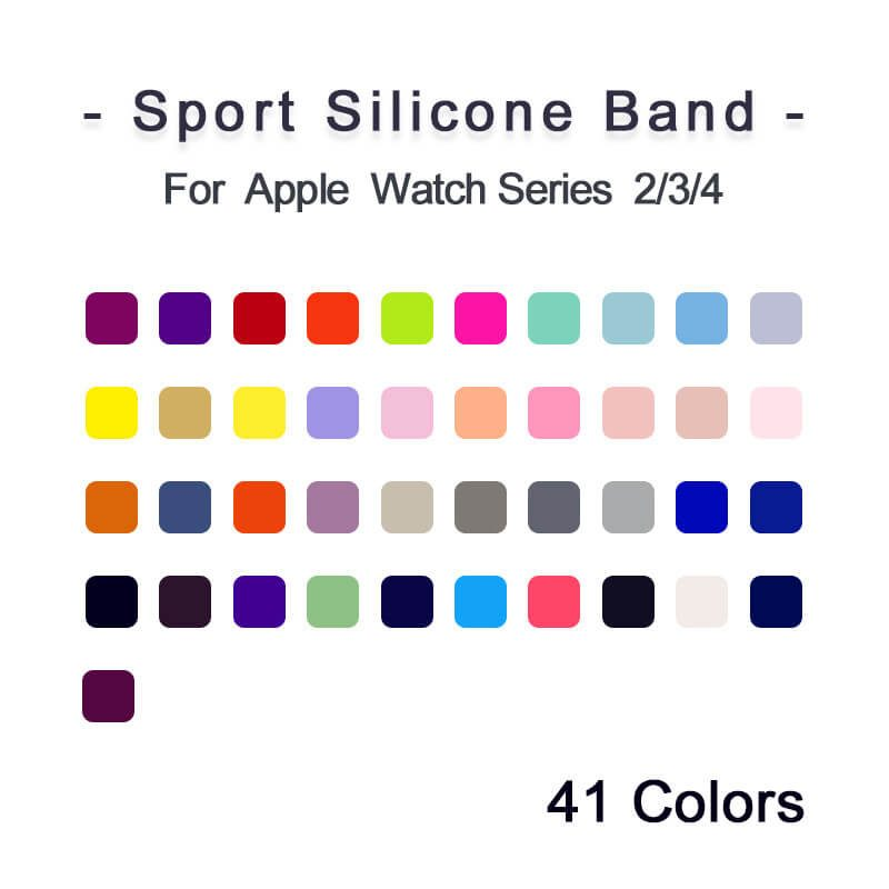 How many colors of apple watch band