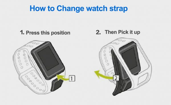 How-to-change-TomTom-Watch-band