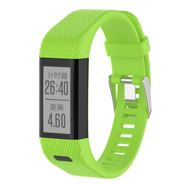 Light Green strap for Garmin vivosmart HR+ Plus