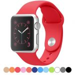 Colorful Original Silicone Watch Band for Apple Watch