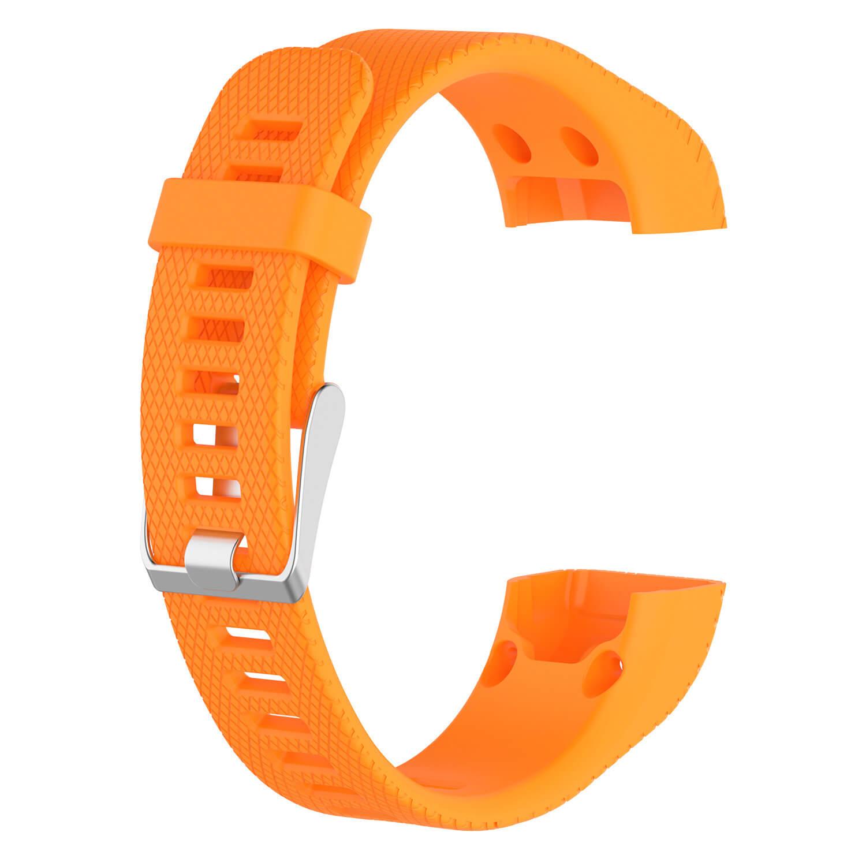 Orange Silicone strap for Garmin Approach x40 smart band