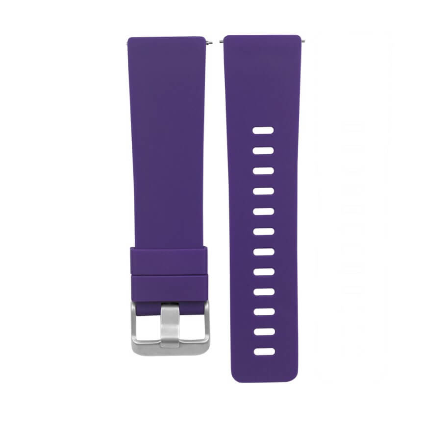 Purple-Watch-Strap-For-fitbit-versa-band-classic-style