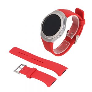 Red band For Samsung Galaxy Gear S2 SM R720