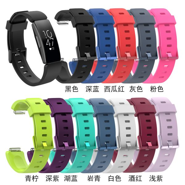 Replacement Band HR Strap Colorful Silicone Wristband For Fitbit Inspire Watchband Accessories