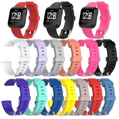 Replacement-silicone-Watch-Straps-For-fitbit-versa-band-official-classic-style
