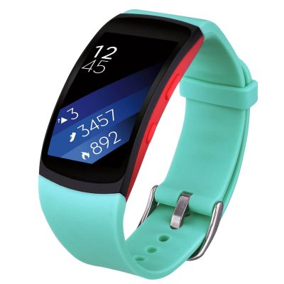 Samsung Gear Fit 2 band cyan