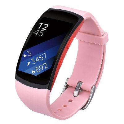 Samsung Gear Fit 2 band strap peach