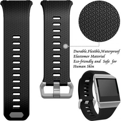 Silicone-Watch-band-for-Fitbit-Ionic-sport-Wristband