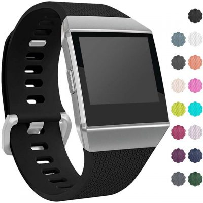 Silicone-Watch-band-for-Fitbit-Ionic-sport-watch