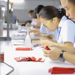 Silicone strap assembly and packaging at the watch band factory