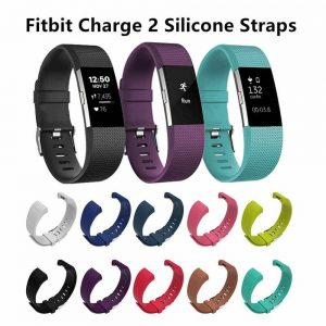 Silicone watch straps for Fitbit Charge 2