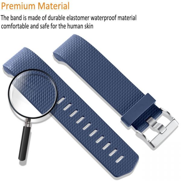 Silicone straps for Fitbit Charge 2 wristband