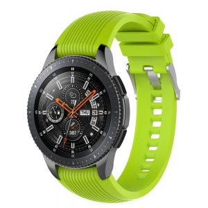 Strap for Samsung Gear S3 Band Classical green