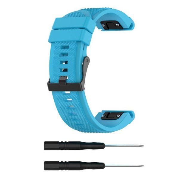 blue-texture-surface-garmin-fenix-5-plus-strap
