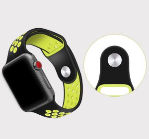 Dual-colors Nike sport band for Apple watch