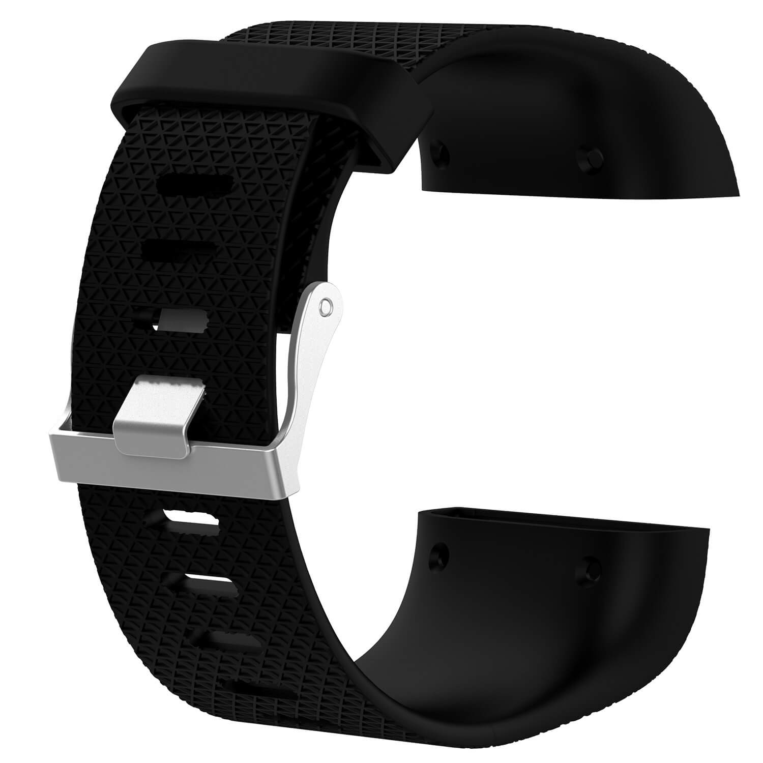 fitbit surge band replacement black