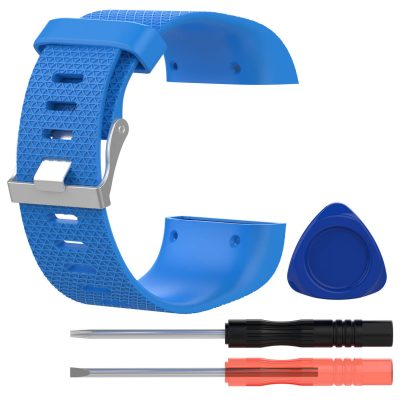 fitbit surge replacement band blue