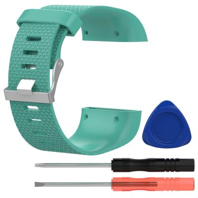 fitbit surge replacement band green