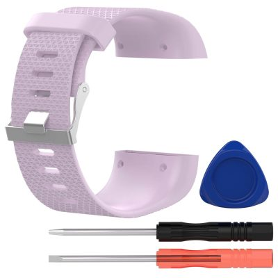 fitbit surge replacement band light pink