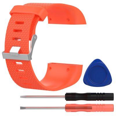 fitbit surge replacement strap orange