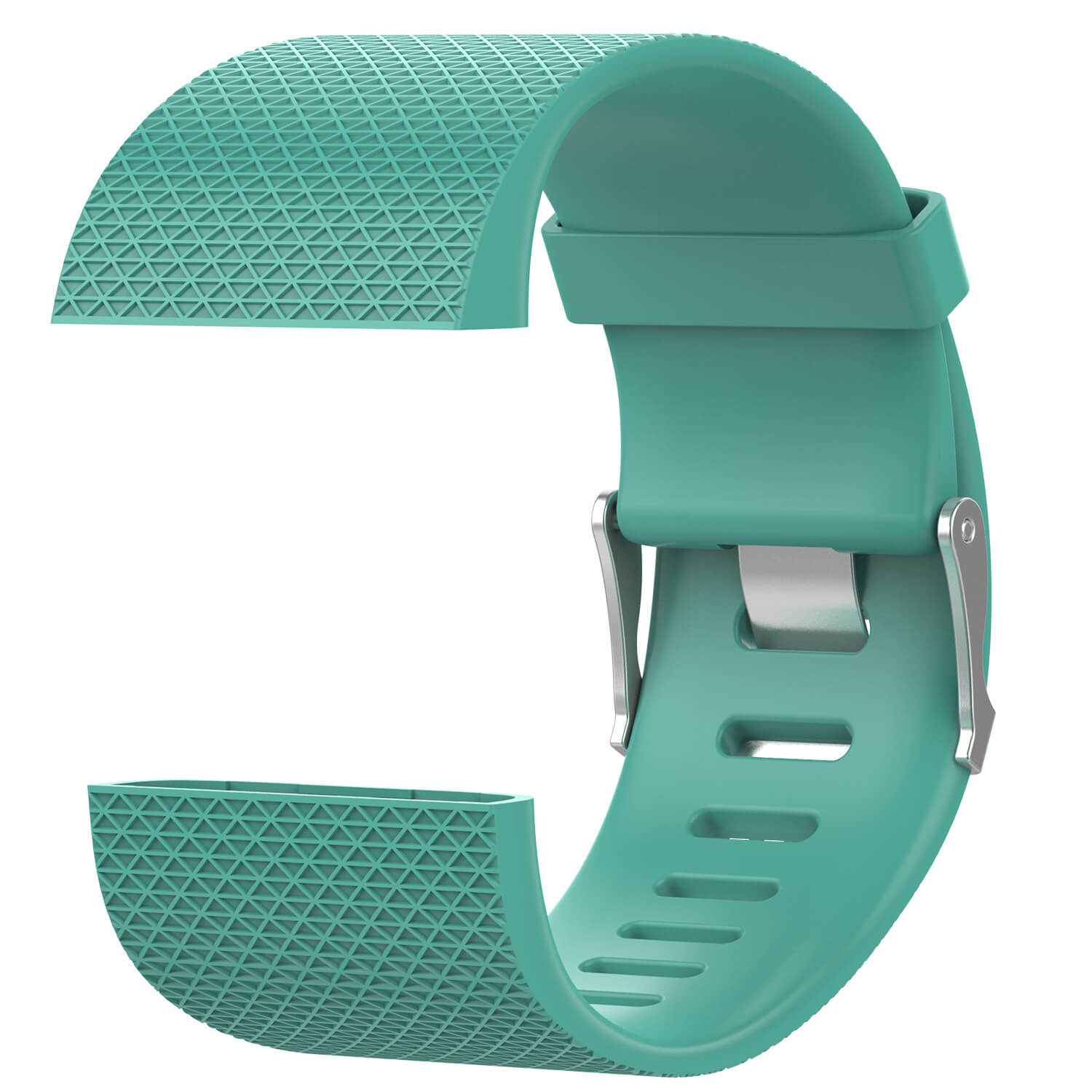 green soft silicone band for fitbit surge