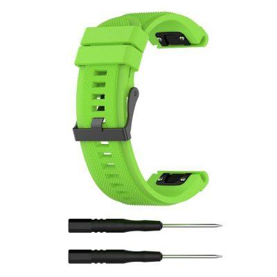 light-green-texture-surface-garmin-fenix-5-plus-strap