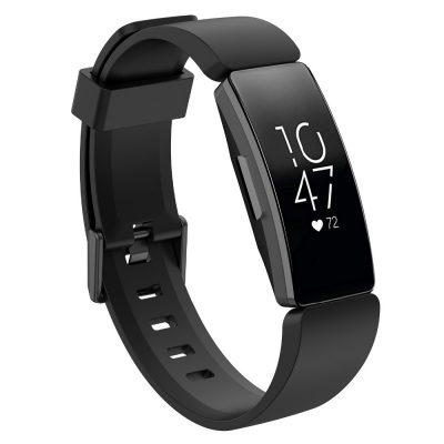 silicon strap for Fitbit Inspire smart band black