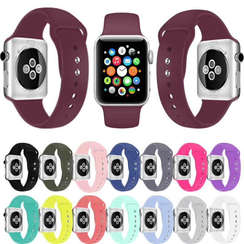 silicone apple watch bands supplier
