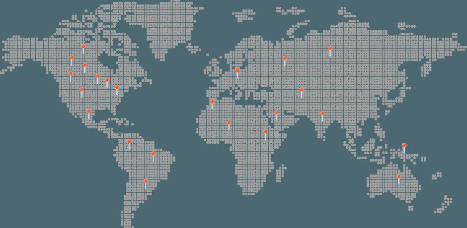 silicone-watch-band-customer-map