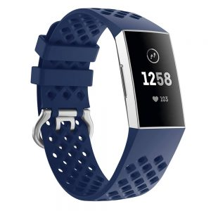 watch band for fitbit charge 3 blue