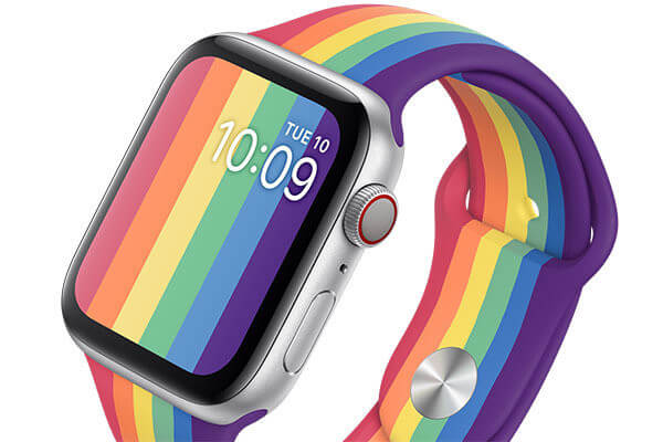Wholesale pride apple watch band manufacturer