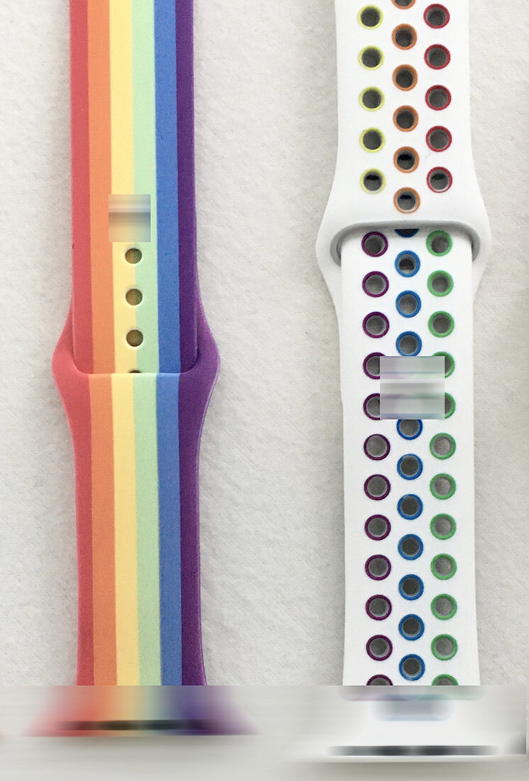 apple watch band pride edition