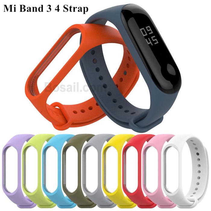 Mi-Band-3-4-Strap-Bracelet-Silicone-Wristband-Bracelet