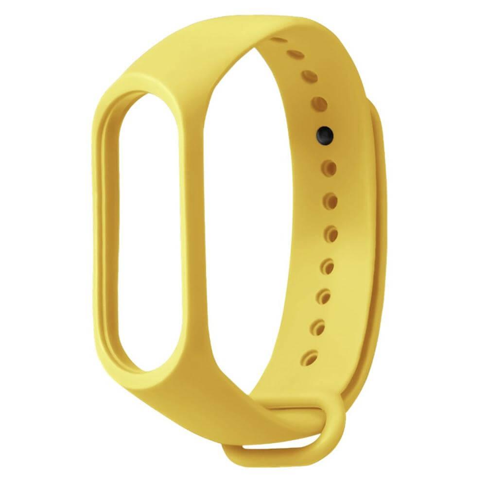 mi band 3 4 5 yellow strap