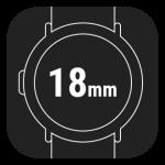 18mm Smart Watch Straps