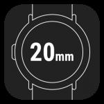 20mm Smart Watch Straps