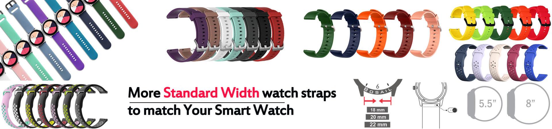 more standard width watch strap match your smart watch