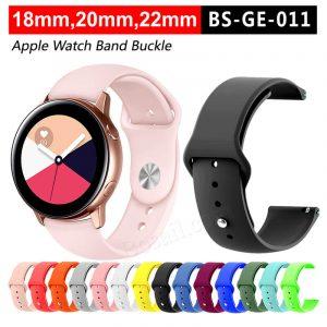 18mm silicone watch strap manufacturer