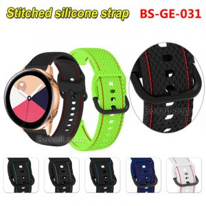 BS-GE-031-Stitched-silicone-watch-strap