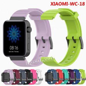 XIAOMI Watch 18mm convex silicone watch band