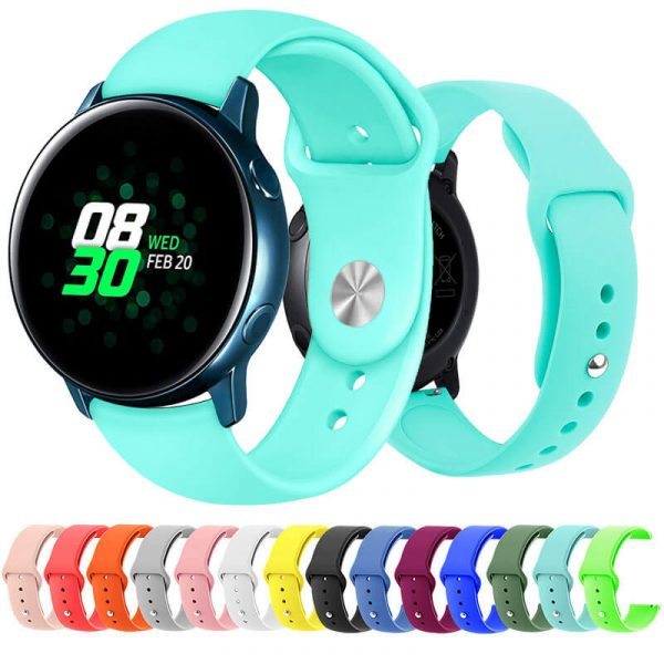 20mm silicone watch band straps
