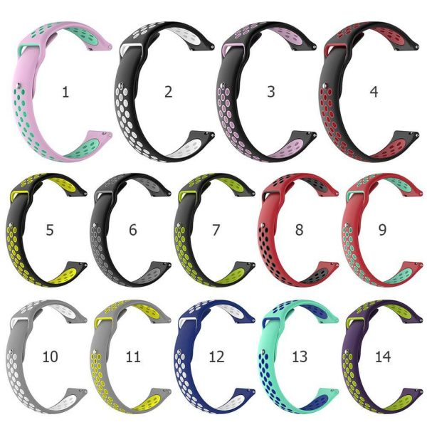 18mm 20mm 22mm breathable holes Nike watch band colors
