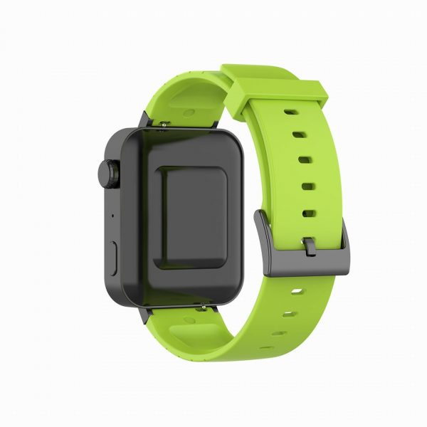 18mm Convex watch band green