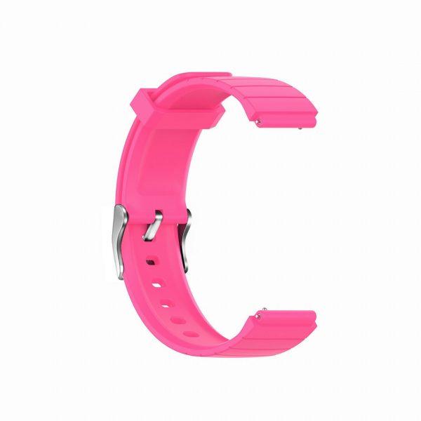 18mm Convex watch band strap pink