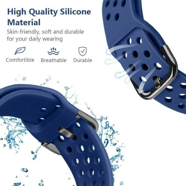 20 22mm breathable Watch Band Strap for Samsung Galaxy Watch 42mm 46mm Active 2 3 Gear S3 S4
